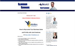 Ellingham Seminars | VERICO Select Mortgages Upcoming Seminars
